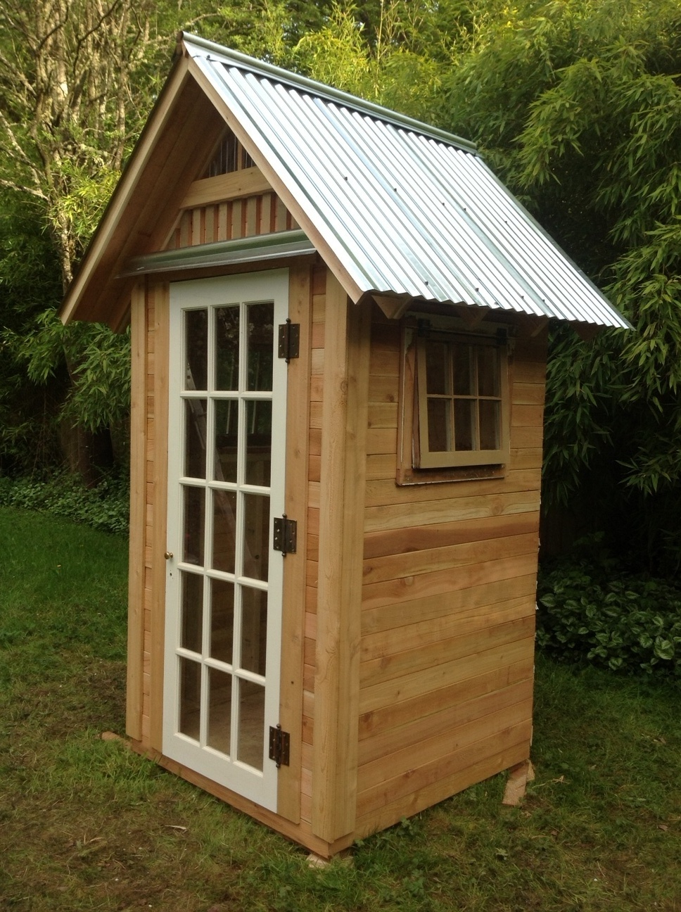 Beautiful Garden Shed Made From Recycled Materials   Victorian .